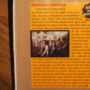 Provinztheater Tonträger Review in der Gitarre&Bass